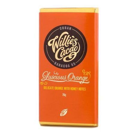 Willie's Cacao - Czekolada pomarańczowa 65% - Luscious Orange Peru 26g