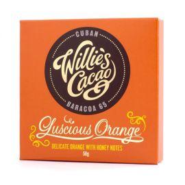 Willie's Cacao - Czekolada pomarańczowa 65% - Luscious Orange Kuba 50g