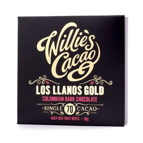 Willie's Cacao - Czekolada 70% - Los Llanos Gold Kolumbia 50g