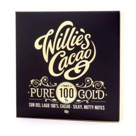 Willie's Cacao - Czekolada 100% - Pure Gold Sur del Lago 40 g