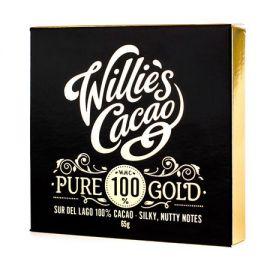 Willie's Cacao - Czekolada 100% - Pure Gold Sur del Lago 65g
