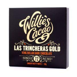 Willie's Cacao - Czekolada 72% - Las Trincheras Gold Wenezuela 50g