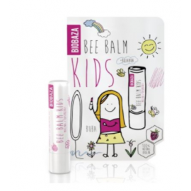 BIOBAZA BEE BALM KIDS - sztyft do ust - malina - 4,5g