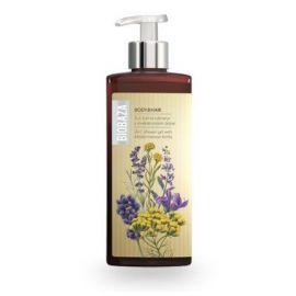 BIOBAZA BODY & HAIR 3 in 1 - żel pod prysznic z ziołami śródziemnomorskimi - 400ml