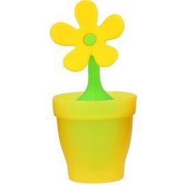 Zaparzacz do herbaty silikonowy - kwiatek żółty