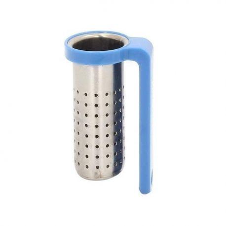 Zaparzacz do herbaty zawieszany niebieski