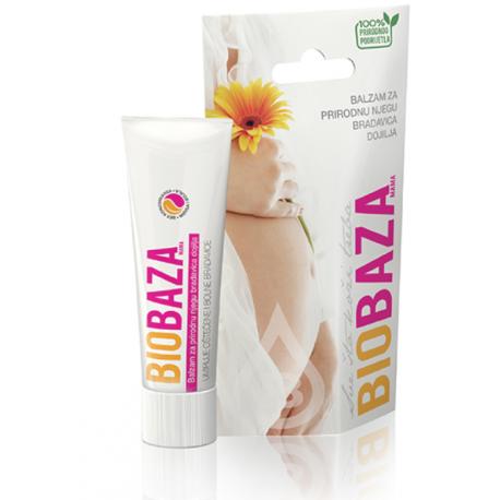 BIOBAZA MAMA - balsam do pielęgnacji brodawek - 35ml