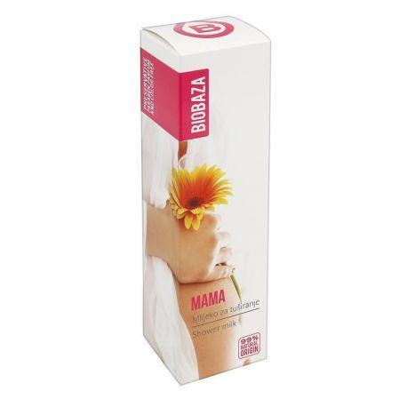 BIOBAZA MAMA - mleczko pod prysznic - 200ml