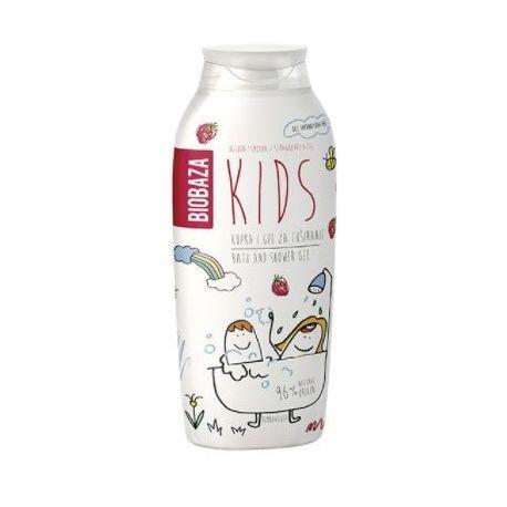 BIOBAZA KIDS - płyn do kąpieli z truskawką i figą - 250ml