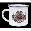 Kubek emaliowany z logo BASILUR