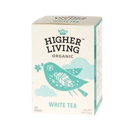 Higher Living White Tea 20x1,75g