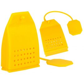 Zaparzacz do herbaty - Żółta torebka