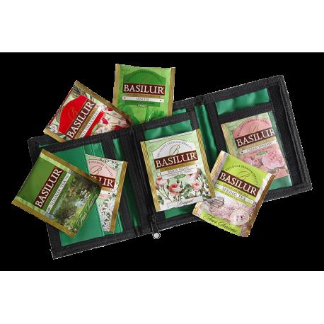 Portfel Green- 7saszetek