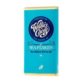 Willie's Cacao - Czekolada z solą morską - Sea Flake 26g