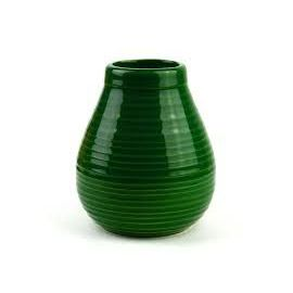 Matero ceramiczne Calabaza zielone - 350ml