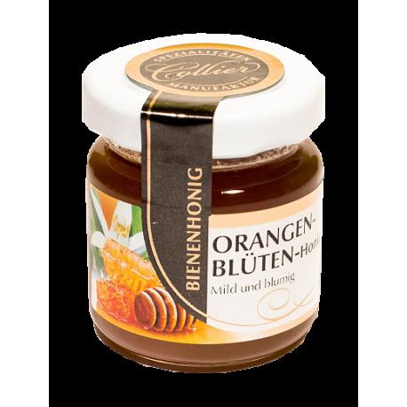 Miód pszczeli z kwiatów pomarańczy - słoiczek 50g