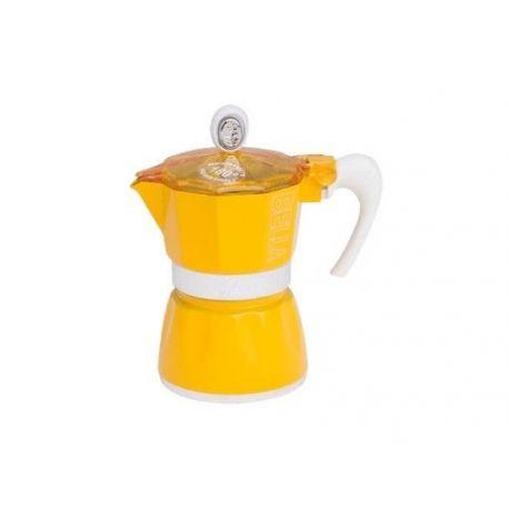 Kawiarka G.A.T. Bella żółta 3 fil.