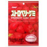 Japońskie żelki o smaku truskawki - torebka 107g