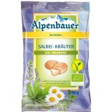 Cukierki z nadzieniem o smaku ziołowym z szałwią 90 g - ALPENBAUER