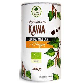 Kawa czarna mielona z chagą - 200g