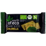 Sezamki z chlorellą bezglutenowe -18g Earth of Eco