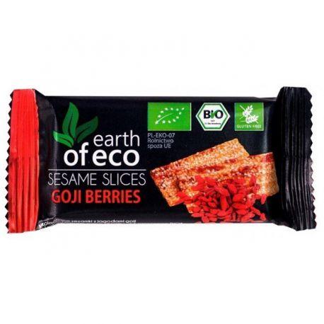 Sezamki z jagodami goji -18g Earth of Eco