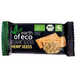 Sezamki z nasionami konopii - 18g Earth of Eco