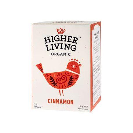 Higher Living Cinnamon - herbata - 15 saszetek