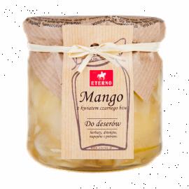 Konfitura mango z kwiatem czarnego bzu - słoiczek 200g