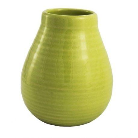 Matero ceramiczne Calabaza jasno zielone - 350ml