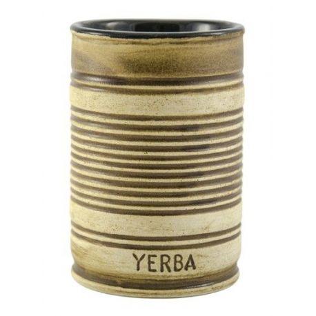 Matero ceramiczne puszka - 300ml
