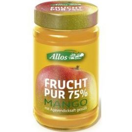 Mus mango Allos 250g