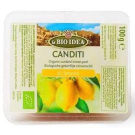 Skórka cytryny kandyzowana - 100 g
