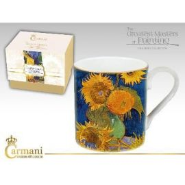 CARMANI - Kubek Van Gogh 6 słoneczników - 380 ml