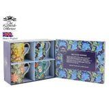 Kpl. 4 kubków - William Morris (niebieskie pudełko)