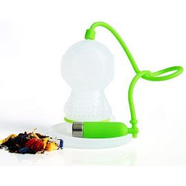 Zaparzacz do herbaty - płetwonurek głębinowy zielony