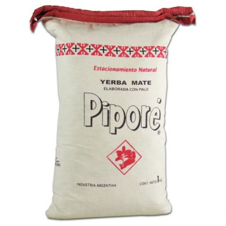 Yerba Mate Pipore Klasyczna w lnianym worku - 1000g