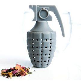 Zaparzacz do herbaty - granat