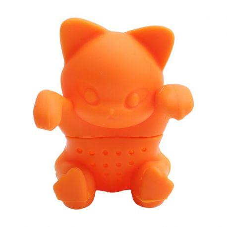 Zaparzacz do herbaty - kotek pomarańczowy
