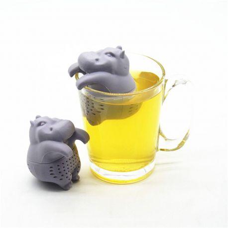 Zaparzacz do herbaty - hipopotam