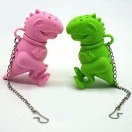 Zaparzacz do herbaty - dinozaur (kolory)