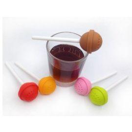Zaparzacz do herbaty - lizak (kolory)