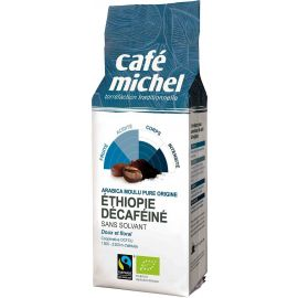 CAFE MICHEL Etiopia - Kawa bezkofeinowa, mielona Arabica BIO 250g