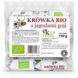 Krówki z jagodami goji bezglutenowe - Ekoflorka 150g