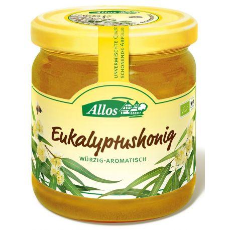 Miód nektarowy eukaliptusowy - ALLOS 500g