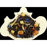 Czarna herbata z cynamonem, ananasem, mango i nagietkiem - 100g