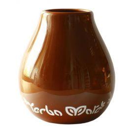 Matero ceramiczne ze wzorem KOLORY - 350ml