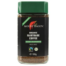 MOUNT HAGEN - Kawa rozpuszczalna liofilizowana bezkofeinowa - 100g