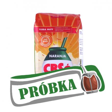 Yerba Mate CBSe Naranja pomarańczowa - 500g