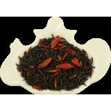 Czarna herbata z wanilią i szafranem - torebka 100g